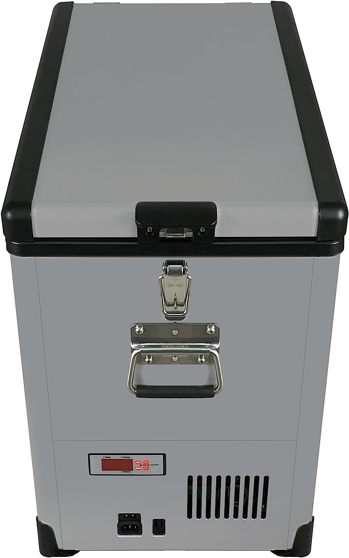 Whynter FM-452SG 45 Quart Slimfit Portable Refrigerator, AC 110V/ DC 12V True Freezer for Car, Home, Camping, RV-8°F to 50°F, One Size, Gray: Appliances