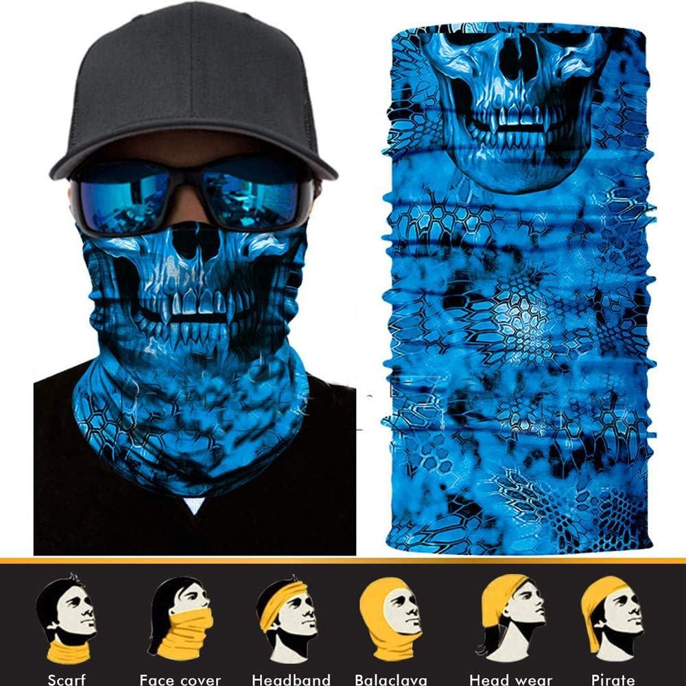 Face Mask Sun Mask Neck Gaiter Balaclava Scarf Headwear UV Fishing Neckerchief