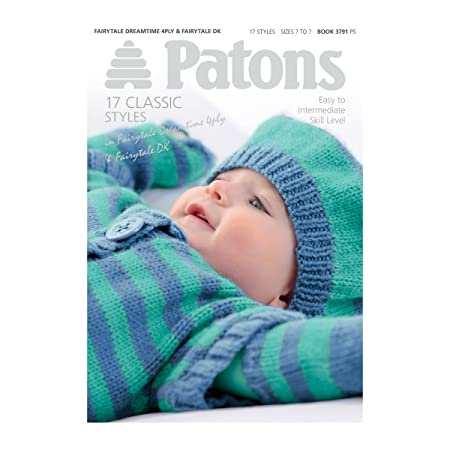 Patons Baby Knitting Pattern Book 18 Designs In Dk Amazon