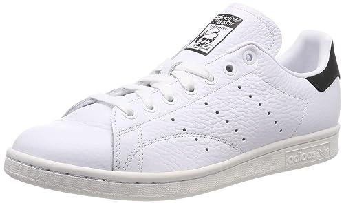 newest bab95 43b99 adidas Stan Smith Scarpe da Fitness Uomo, Bianco Ftwbla Negbás 000, 38 2