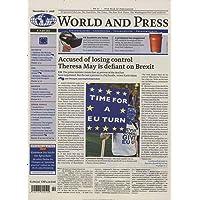 World and Press [Abonnement jeweils 24 Ausgaben jedes Jahr]