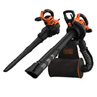 BLACK+DECKER BEBLV300-QS 3 in 1 Leaf Blower 3000W