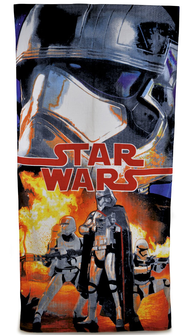 Disney Star Wars The Force Awakens Velour Towel, Multi CM0605