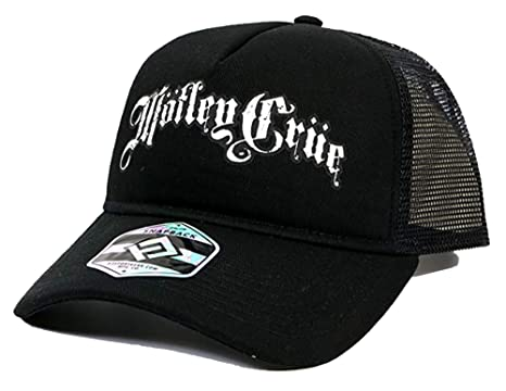 5ed6108074b Amazon.com  H3 SPORTGEAR Motley Crue Band Logo Trucker Hat