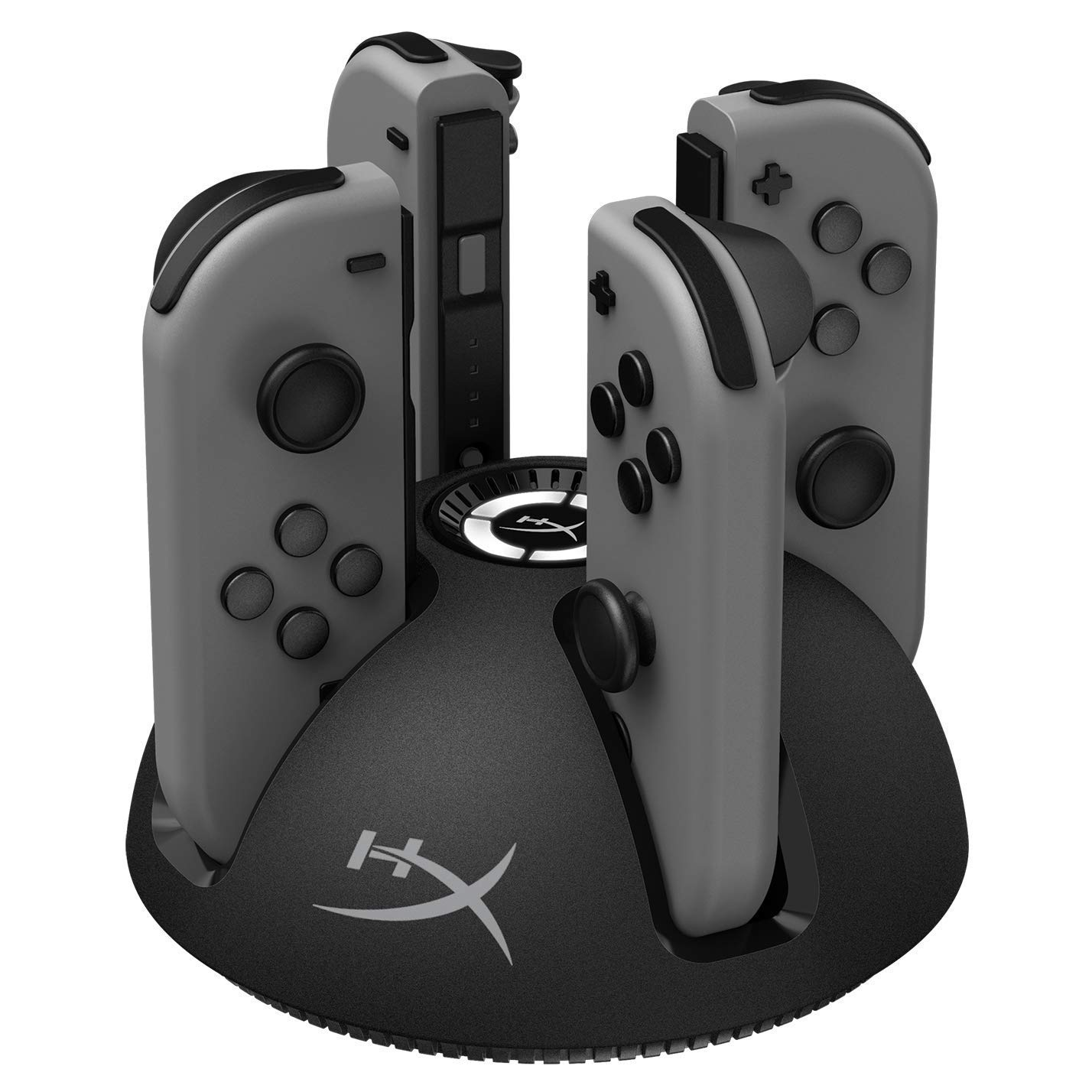 HyperX Chargeplay Quad - 4-in-1 Joy-Con Charging Station for Nintendo Switch with LED Indicators, USB Connection