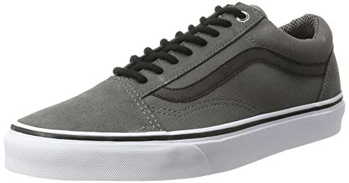 223fc7e6bde922 Vans Men s s Old Skool Trainers Grey (Pewter Reflective) 6 ...