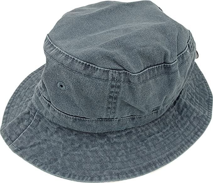 efc81bcf8fe Image Unavailable. Image not available for. Color  Adams Vacationer Pigment  Dyed Twill Bucket Cap ...