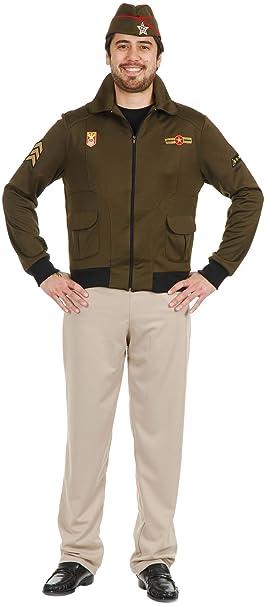 1940s Men's Costumes: WW2, Sailor, Zoot Suits, Gangsters, Detective Adult Mens Vintage 1940s WWII Commander General Eisenhower Costume $39.99 AT vintagedancer.com