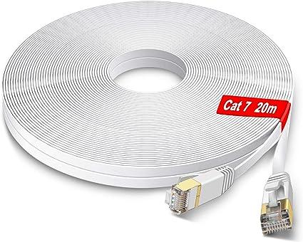Glcon 20m Cat 7 Lan Cable High Speed 10 100 1000 Elektronik