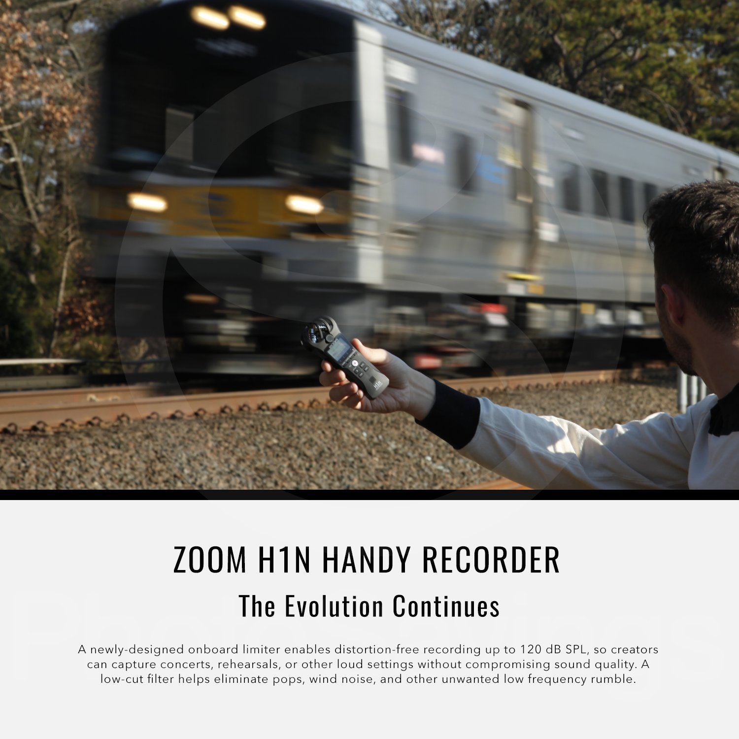 Zoom H1n Handy Recorder with Lavalier Mic Accessory Pack by Photo Savings (Image #4)