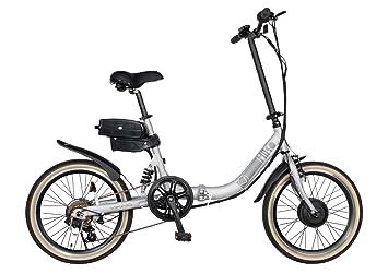 Viking Hiko - Bicicleta eléctrica plegable con un diseño de cuadro 36 C de aleación ligera