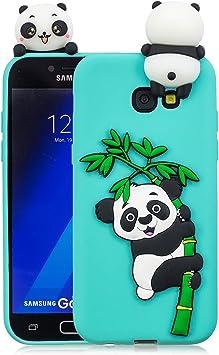 Leton Funda Samsung Galaxy A5 2017 Silicona Panda 3D Suave ...