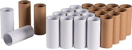 50 Empty Toilet Paper Rolls Tubes Crafts Art Supplies School Projects Cardboard