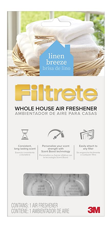 Exceptional Filtrete SI 1 CL Whole House Air Freshener   Linen