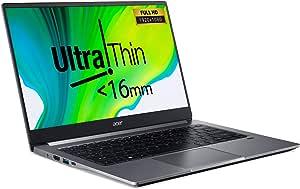 "Swift3 SF314 Ultrathin 10th Gen Intel Core i7-1065G7 QuadCore Upto 3.90GHz/16GB/1TB SSD/2GB NVIDIA® GeForce® MX350+Intel Iris Graphics/14"" FHD Acer ComfyView™ IPS LED LCD/Win 10 Home/Steel Gray"
