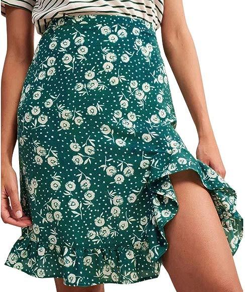Beikoard ❤ Faldas Mujer Verano,Mujeres de la Moda de impresión ...