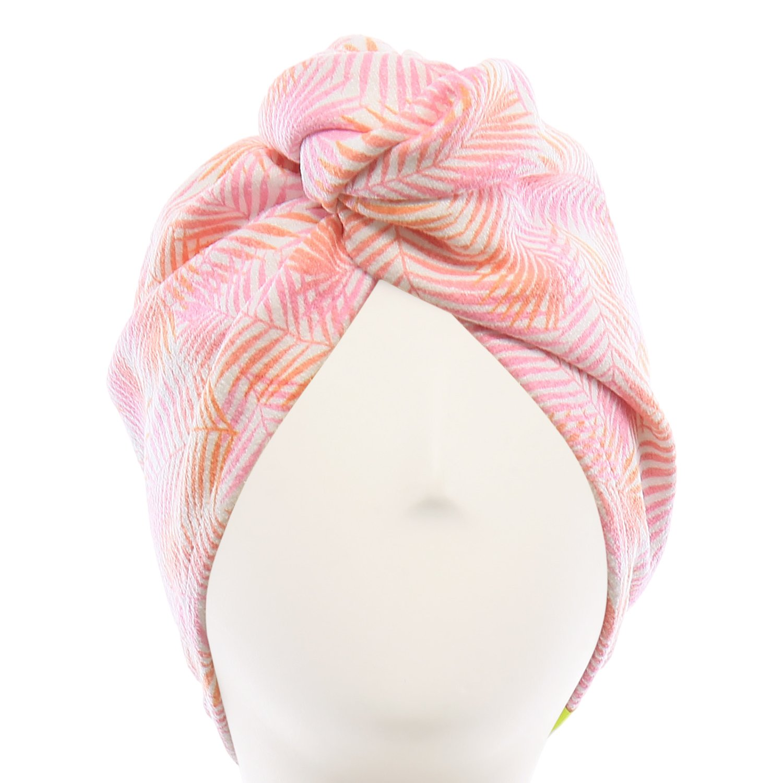Aquis - Original Hair Turban, Patented Perfect Hands-Free Microfiber Hair Drying, Foliage (10 x 26 Inches)