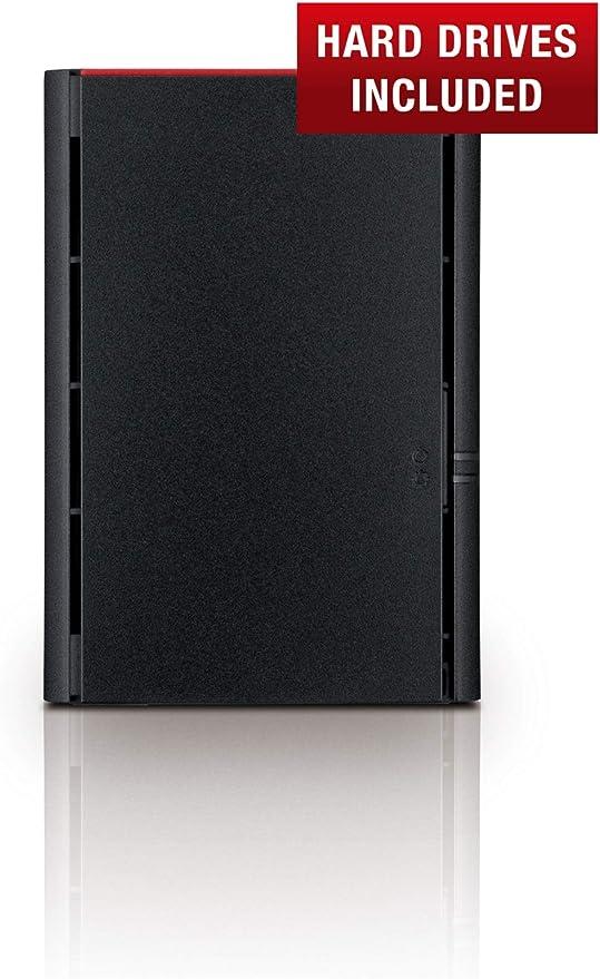 Buffalo LinkStation LS220 4 TB 2 x 2 TB 2 Bay Desktop NAS-Einheit