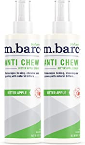 M.BARC Naturals Anti Chew Spray for Pets 8oz (2-Pack)
