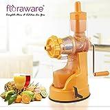Floraware Plastic Hand Juicer, 150ml, Orange