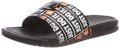 724d33a11acf9a Nike Benassi JDI Print  631261-016  Men Sandals Slides Just Do It Black