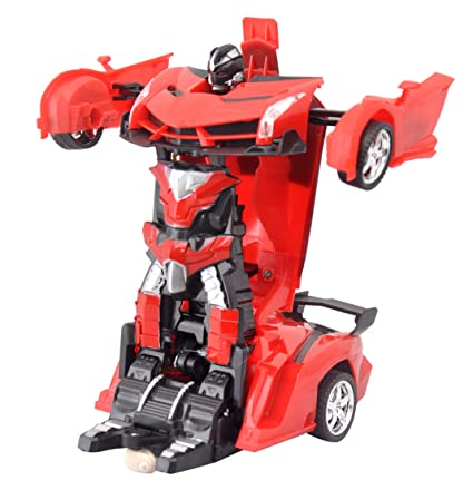 Toyshine Converting Car to Robot Transforming Lamborghini Toy with Remote  Controller for Kids, 1:16 Scale (Assorted Color)