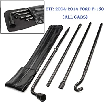 MAD Spare Tire Lug Wrench Replacement Tool Kit For 2004-2014 Ford F150 F-150