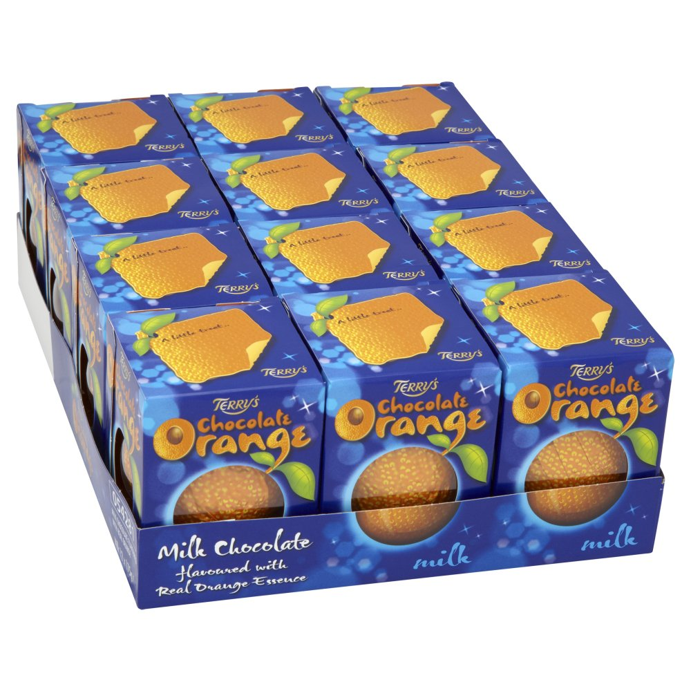 Amazon.com : Kraft Terry's Milk Chocolate Orange 175 G (Pack Of 12 ...