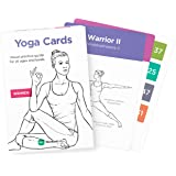 YOGA CARDS – Premium Visual Study, Sequencing & Practice Guide with Essential Poses, Breathing Exercises & Meditation - #1 Bestselling Flash Cards Deck with Sanskrit Asana Names by WorkoutLabs