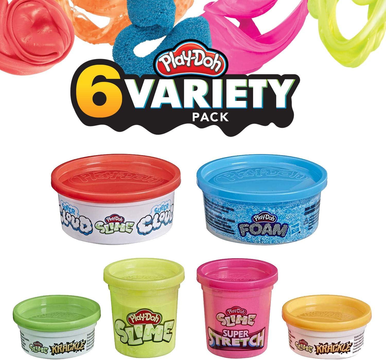 Play-Doh PD 6 Paquete Variado: Amazon.es: Juguetes y juegos