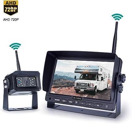 Amtifo Newest Digital Wireless Backup Camera for Digital Wireless 7 Inch Monitor System