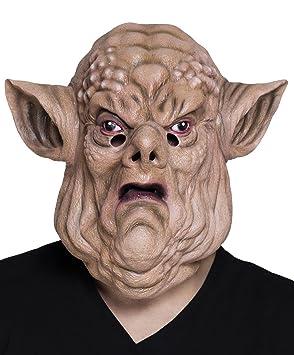 Fasching Fete Halloween Disfraz látex Máscara Horror Troll ...