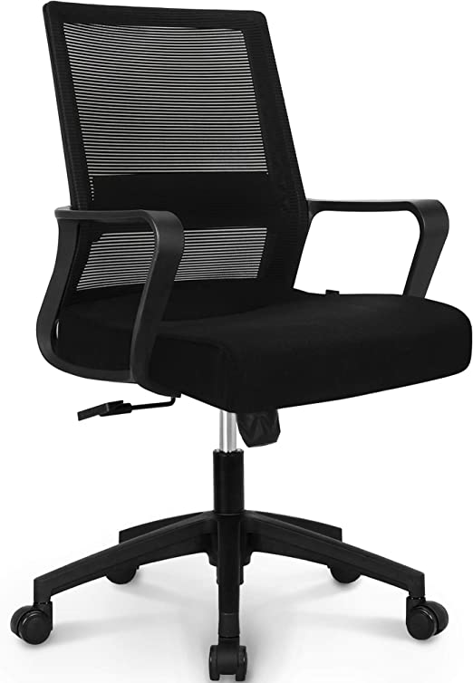 NEO CHAIR Office Chair Ergonomic Desk Chair Mesh Computer Chair Lumbar Support - Anti-shocking Protection