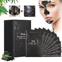 Masque Noir Luckyfine Anti-Point Masque, Point Noir Masque, Peel off Masque, Black Head Masque, Blackhead Remover Masque, Une boîte de 10PCS