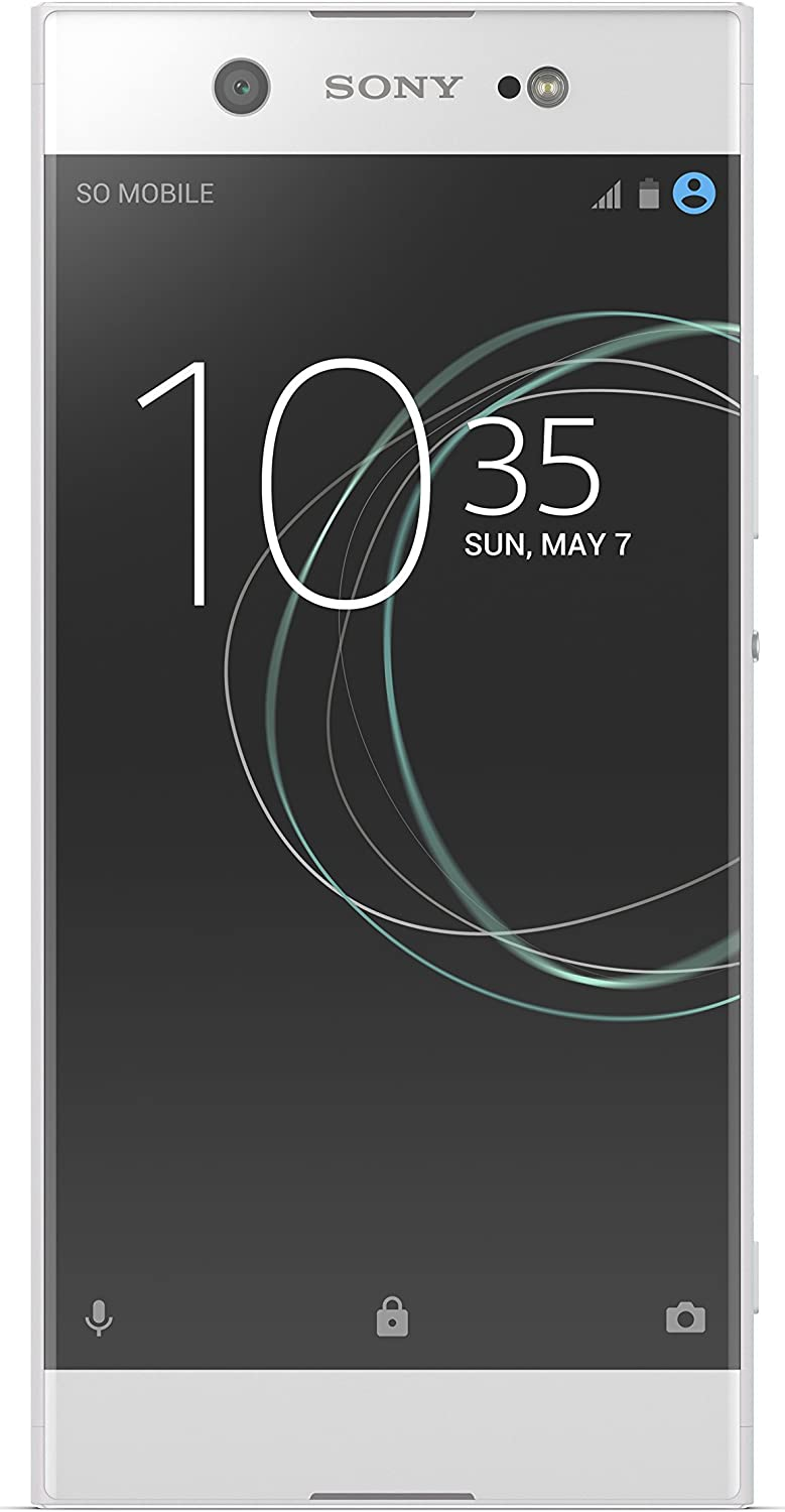 Sony Xperia XA1 Ultra 6in Factory Unlocked Phone - 32GB - White (U.S. Warranty) (Renewed)