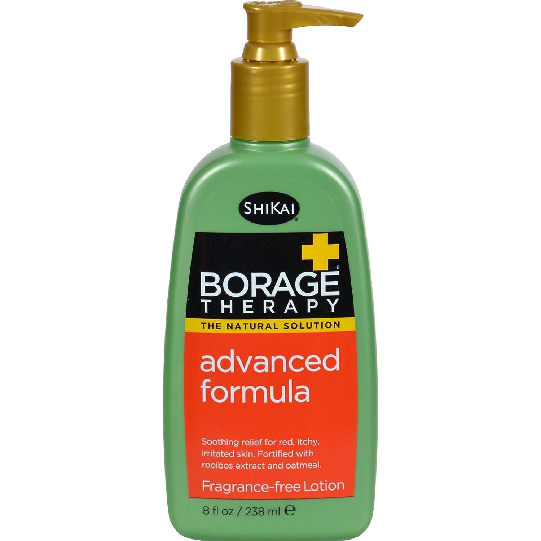 Shikai Borage Therapy Advanced Formula Fragrance Free - 8 fl oz (Pack of 4)
