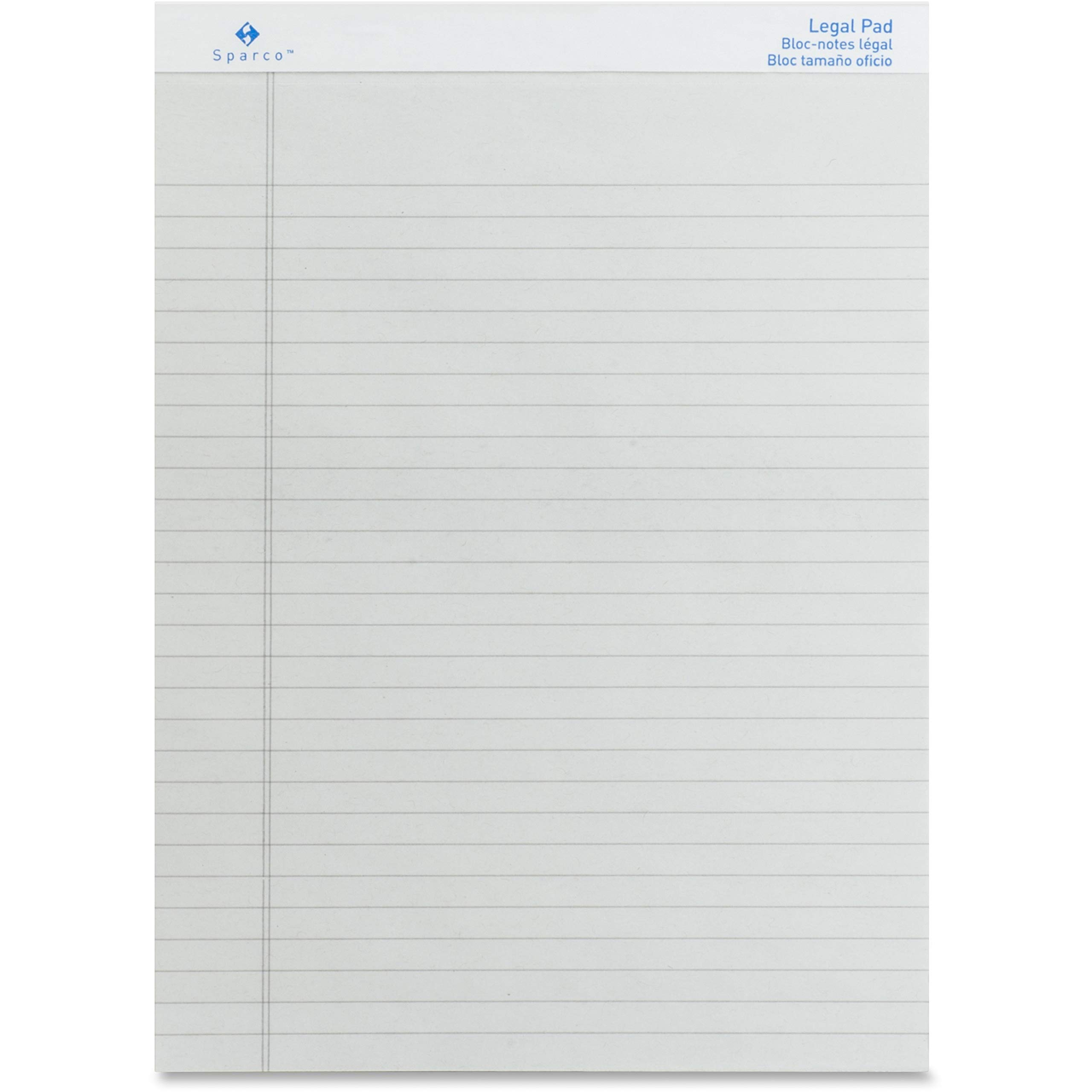 SPR01075 - Sparco Gray Legal Ruled Pad