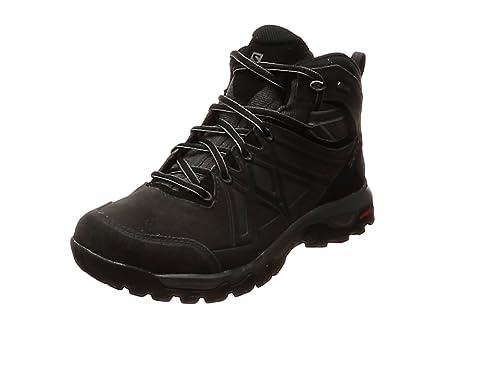 af4b1c1218b Salomon Men's EVASION 2 MID LTR GTX Hiking and Multisport Shoes, Grey  (Magnet/
