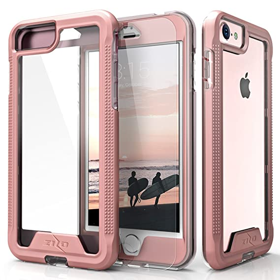 new product f3bde 9d281 Amazon.com: iPhone 8 Case / iPhone 7 Case, Zizo [ION Series] with ...