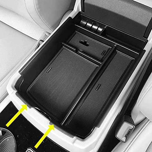 Color Name : A Black white line NYSCJJJ FOR VW Volkswagen TOURAN CADDY 2004-2019 Car ARMREST,Interior Accessories Center Console Box Arm Rest Auto Parts