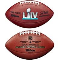 $149 » Super Bowl 54 LIV Wilson Authentic Official Game Football - Miami 2020 - with 49ers & Chiefs Team Names