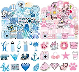 200 PCS Cute Stickers, Laptop and Water Bottle Decal Sticker Pack Vinyl Stickers Waterproof for Teens, Girls, Women