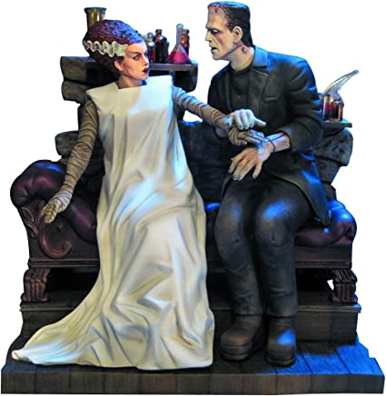 Amazon.com: Moebius The Bride of Frankenstein Model Kit: Toys & Games