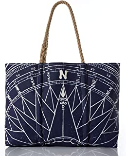 product image for Sea Bags Recycled Sail Cloth Navy True North Tote Medium