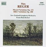 Reger: Mozart, Hiller Variations