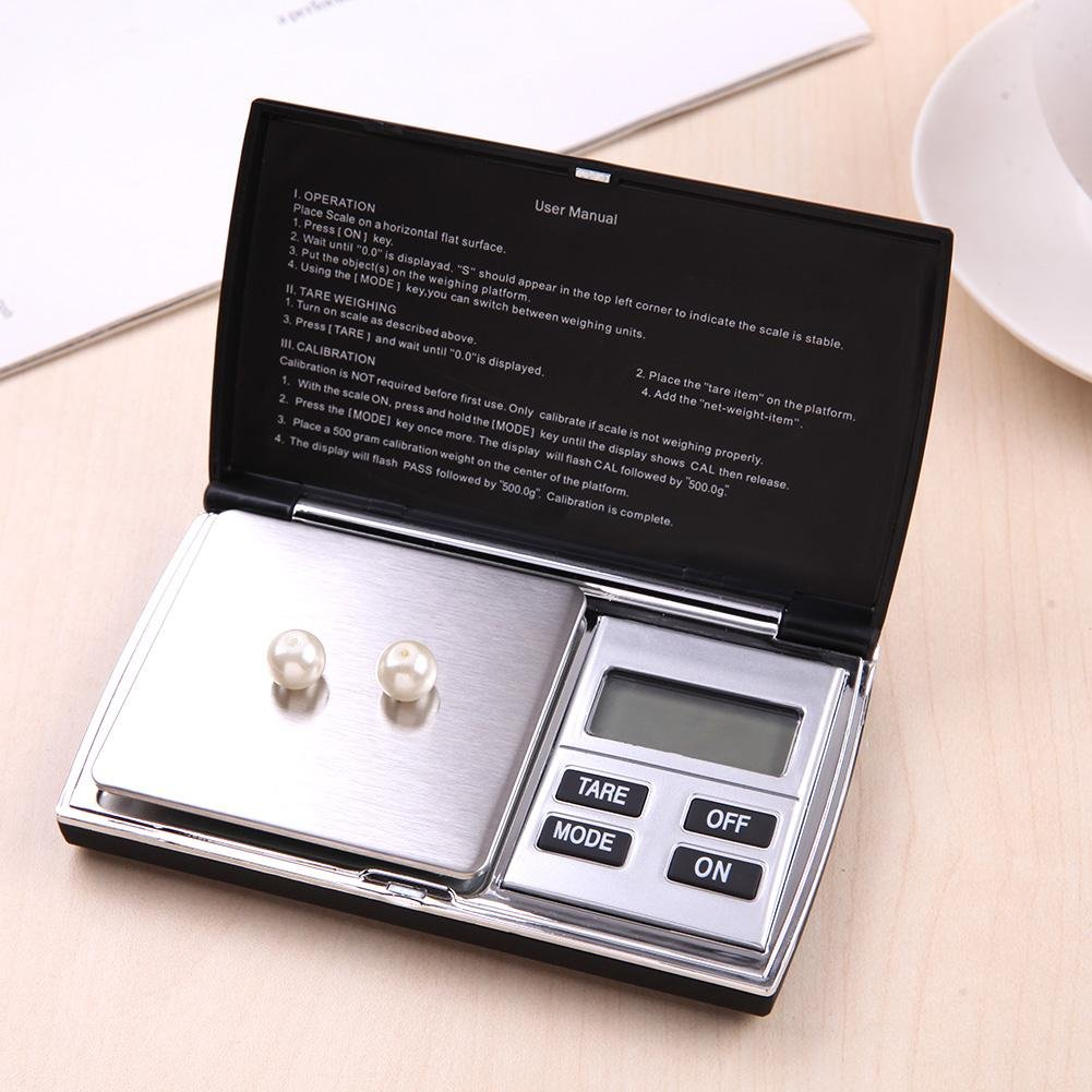 Broadroot Mini Electronic Digital Jewelry Diamond Weigh balanza balanza (300gx0.01g): Amazon.es: Bricolaje y herramientas