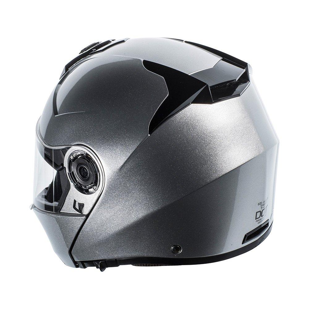 TORC T27 Avenger Full Face Modular Helmet White, X-Large