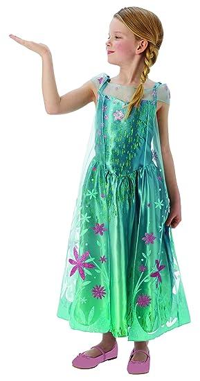 Fancy Ole - Disfraz Infantil de Elsa Frozen con Vestido de ...