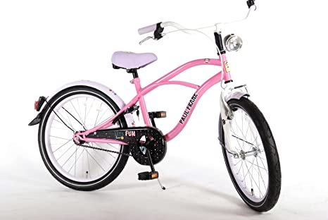 Bicicleta Niña Deportes 6 7 8 Años de 20 Pulgadas Paul Frank Rosa ...