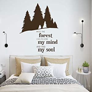 Outdoors Vinyl Wall Decal |
